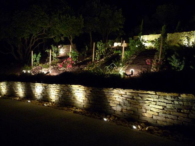 Del vigne etude ecl exterieur for Eclairage led jardin